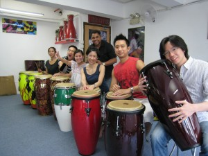 Salsa Musicality-Kevin's group